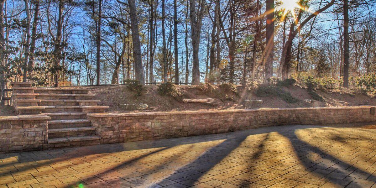 Retaining Walls & Stairs